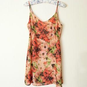BB Dakota Rose Floral Print Summer Dress